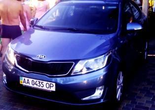 Номерные знаки на авто в украине