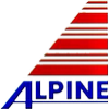Эмблема марки моторного масла Alpine